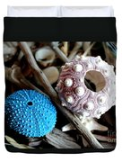 Sea Urchin Duo Duvet Cover