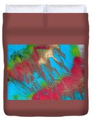 Seabreeze Abstract Painting Duvet Cover
