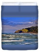 Seacape Duvet Cover by Robert Bales