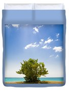 Seagrape Tree Duvet Cover
