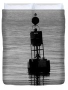 Seagull And Buoy Duvet Cover