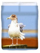 Seagull Colors Duvet Cover