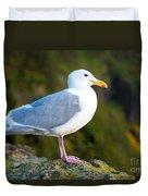 Seagull Heceta Head - Oregon Duvet Cover