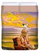 Seagull Man 6 Duvet Cover