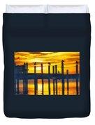 Seagull Sunset Duvet Cover