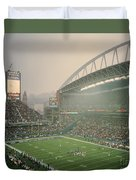 Seahawks Stadium 2 Duvet Cover