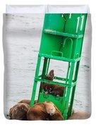 Seal Hammock Duvet Cover
