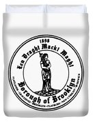 Seal Of Brooklyn Duvet Cover