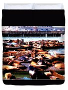 Seal Wharf Duvet Cover