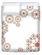 Seamless Retro Pattern Duvet Cover