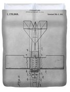 Seaplane Patent Drawing Duvet Cover