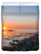 Seapoint Beach In  Kittery Point Maine Duvet Cover