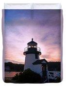 Seaport Nightlight Duvet Cover