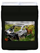 Search And Rescue Duvet Cover