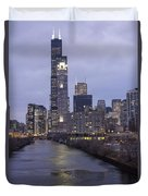 Sears Tower Or Willis Tower Duvet Cover