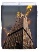 Sears Willis Tower Duvet Cover