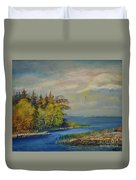 Seascape From Hamina 3 Duvet Cover