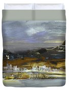 Seascape Impression In Spain 01 Duvet Cover