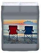 Seascape Serenity Duvet Cover
