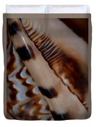 Seashell Abstract 2 Duvet Cover