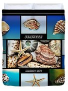 Seashell Collection 2 Duvet Cover
