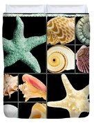 Seashell Collection Duvet Cover