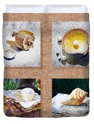 Seashell Collection I Duvet Cover