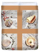 Seashell Collection II Duvet Cover