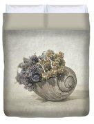 Seashell No.2 Duvet Cover by Taylan Apukovska
