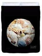 Seashells Baseball Square Duvet Cover