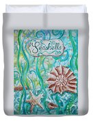 Seashells II Duvet Cover