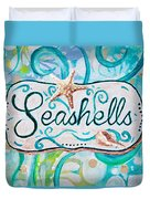 Seashells IIi Duvet Cover
