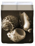 Seashells Spectacular No 1 Duvet Cover by Ben and Raisa Gertsberg
