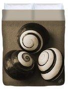 Seashells Spectacular No 28 Duvet Cover by Ben and Raisa Gertsberg