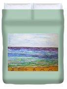 Sunny Seashore  Duvet Cover