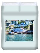 Seaside B And B Duvet Cover