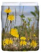 Seaside Flora Duvet Cover