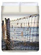 Seaside Nets Duvet Cover