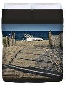 Seaside Park New Jersey Shore Duvet Cover