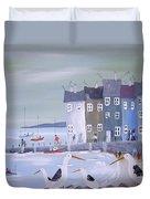 Seaside Seagulls Duvet Cover