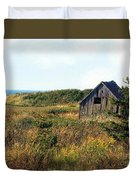 Seaside Shed - September Duvet Cover