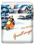Season Greetings Duvet Cover