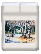 Seasonal Transition Duvet Cover