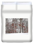 Seasons Converge Duvet Cover