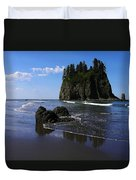 Seastack Duvet Cover