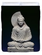 Seated Buddha Duvet Cover