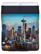 Seattle Afternoon Duvet Cover
