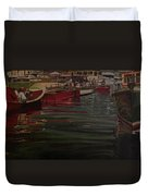 Seattle Boat Show Duvet Cover