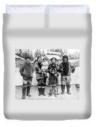 Seattle Eskimo Family Duvet Cover