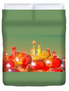 Seattle Over Cells - Marcello Cicchini Duvet Cover